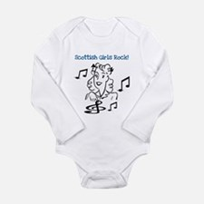 Scottish Girls Rock Long Sleeve Infant Bodysuit