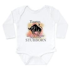 Taurus the Bull Long Sleeve Infant Bodysuit