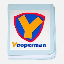 YooperMan Infant Blanket