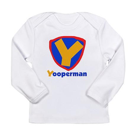 YooperMan Long Sleeve Infant T-Shirt