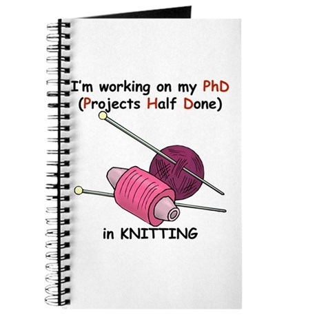 Knitting PhD (projects half d Journal