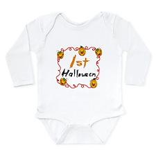 1st Halloween Long Sleeve Infant Bodysuit