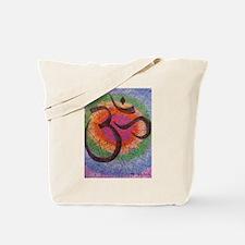 Chakra inspired Om Tote Bag