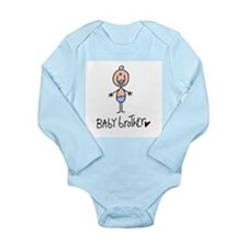 Baby Brother Long Sleeve Infant Bodysuit