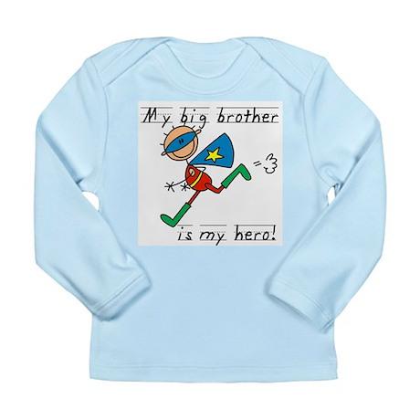 Big Brother My Hero Long Sleeve Infant T-Shirt