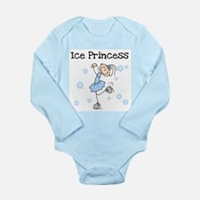 Ice Princess Long Sleeve Infant Bodysuit
