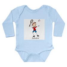 Badminton Long Sleeve Infant Bodysuit