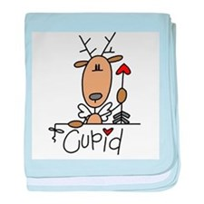 Cupid Reindeer Infant Blanket