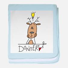 Donner Reindeer Infant Blanket