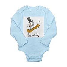 Snow Much Fun Long Sleeve Infant Bodysuit