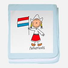 Netherlands Ethnic Infant Blanket