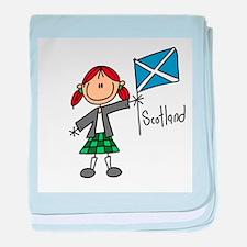 Scotland Ethnic Infant Blanket