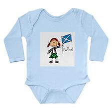 Scotland Ethnic Long Sleeve Infant Bodysuit
