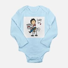Cowboy Saddle Up Long Sleeve Infant Bodysuit