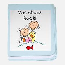 Vacations Rock Infant Blanket