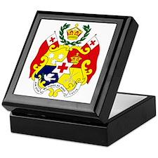 Tonga Coat of Arms Keepsake Box