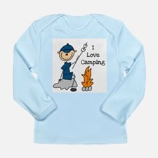 I Love Camping Long Sleeve Infant T-Shirt