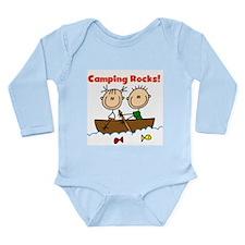 Camping Rocks Long Sleeve Infant Bodysuit