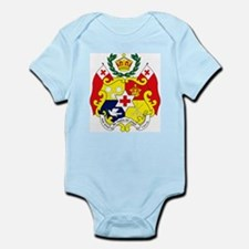 Tonga Coat of Arms Infant Creeper