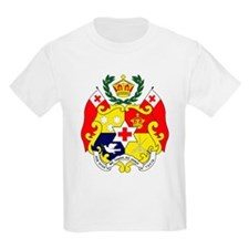 Tonga Coat of Arms Kids T-Shirt
