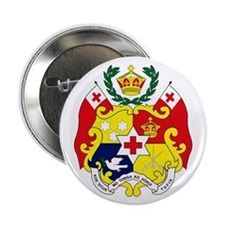 "Tonga Coat of Arms 2.25"" Button (10 pack)"