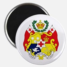"Tonga Coat of Arms 2.25"" Magnet (10 pack)"