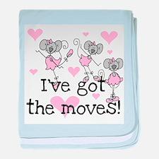 I've Got the Moves Infant Blanket