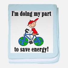 Bicycle Save Energy Infant Blanket