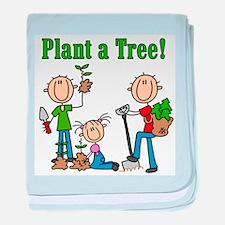 Plant a Tree Infant Blanket