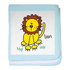 Cute Lion Infant Blanket