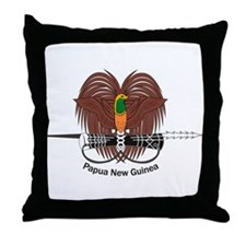 Papua New Guinea Throw Pillow