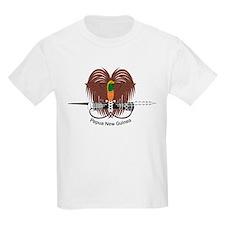 Papua New Guinea Kids T-Shirt