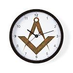 Masonic UGLE Style Wall Clock