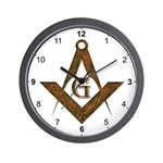 Masonic Antient Wall Clock