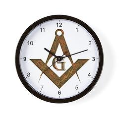 Masonic Antient Wall Clock