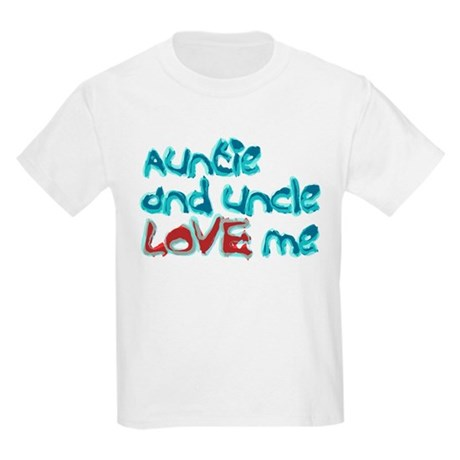 Auntie and Uncle Love Me Kids T-Shirt