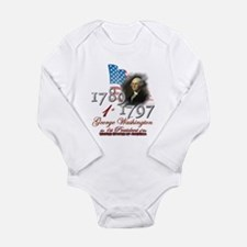 1st President - Long Sleeve Infant Bodysuit