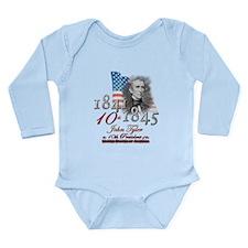 10th President - Long Sleeve Infant Bodysuit