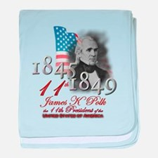 11th President - Infant Blanket