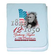 12th President - Infant Blanket