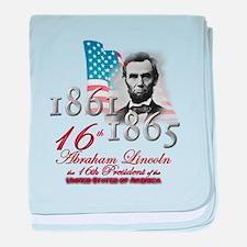 16th President - Infant Blanket