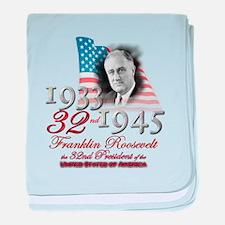 32nd President - Infant Blanket