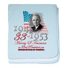 33rd President - Infant Blanket