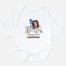 37th President - Long Sleeve Infant Bodysuit
