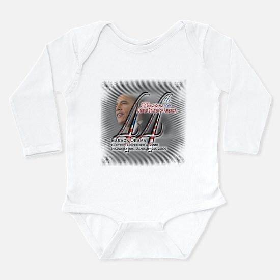 Cute 2012meterproobama Long Sleeve Infant Bodysuit