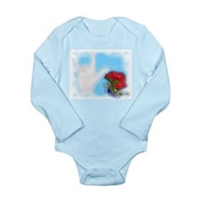 I Love You Daddy - Long Sleeve Infant Bodysuit