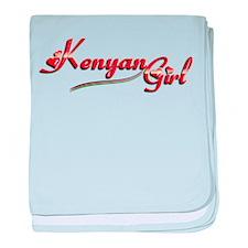 Kenyan Girl - Infant Blanket
