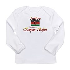 Survived a Kenyan Safari - Long Sleeve Infant T-Sh