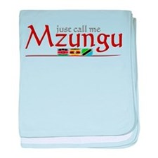 Just Call Me Mzungu - Infant Blanket