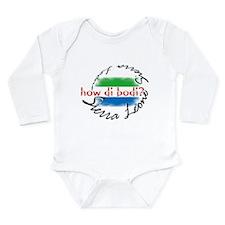 How di bodi? - Long Sleeve Infant Bodysuit